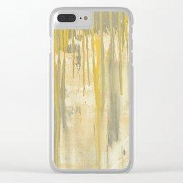 sunshine rain Clear iPhone Case