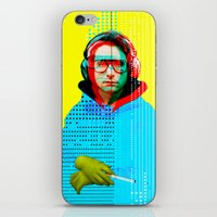 beastie boys iPhone & iPod Skins featuring Gioconda Music Project · Beastie Boys · Adam Horrovitz by Marko Köppe
