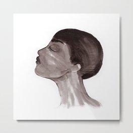 Woman ink 05 Metal Print