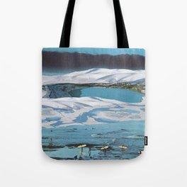 Arctic Aquamarine Tote Bag
