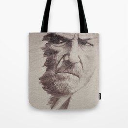 HALF FACE II Tote Bag