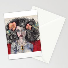 She Had Hummingbirds in Her Hair Stationery Cards