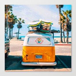 Van — Surf, Beach Canvas Print