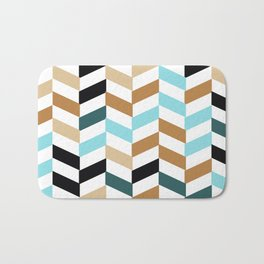 Geometric colorful pattern, abstract, vector, illustration Bath Mat
