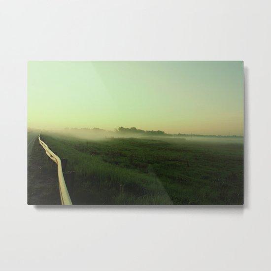 Before the sunrise/fog Metal Print