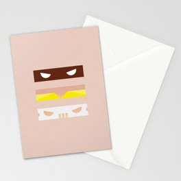 Teenage Minimal Ninja Good Guys Stationery Cards
