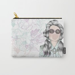 GUM FLOWER GIRL Carry-All Pouch