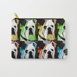 Clyde The Bulldog Carry-All Pouch