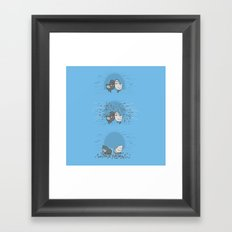 And then they blew up Framed Art Print