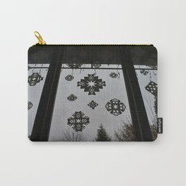 Homemade Snowflakes Carry-All Pouch