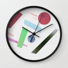 Geometry 4 Wall Clock