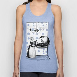 Tea Party for the Super-males. (Saint John the Baptist Martyr) Unisex Tank Top