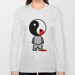 Yin Yang Heart Long Sleeve T-shirt