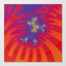 trippy daisy Canvas Print