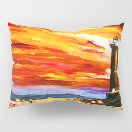Light Art Tower Pillow Sham