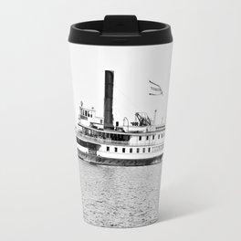 Ticonderoga Steamer on Lake Champlain Travel Mug