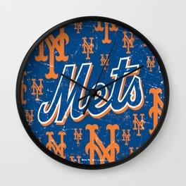 NY METS Wall Clock