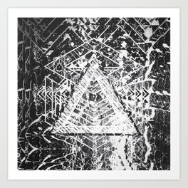 BW BG #01 Art Print