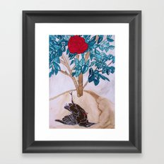 The Nightingale and the Rose, Oscar Wilde Framed Art Print