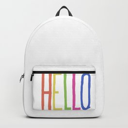 Hello! Backpack