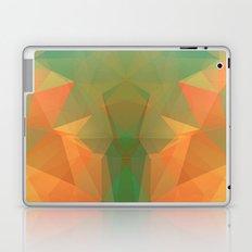 SUMMER ALIEN MASK LOWPOLY Laptop & iPad Skin
