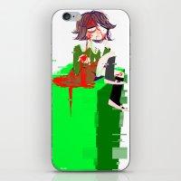 chihiro iPhone & iPod Skins featuring Chihiro Fujisaki by hellokittyloli