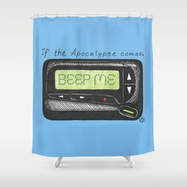 Date First, Fight Later Shower Curtain