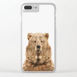 Bear European Clear iPhone Case