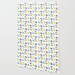 Dinosaur Pattern Wallpaper