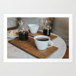 Coffee Print Art Print