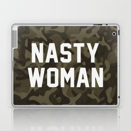 Nasty Woman - camouflage version Laptop & iPad Skin