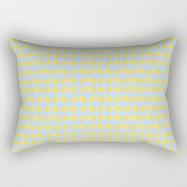 Catch the Half Lemon (Pattern Version) Rectangular Pillow