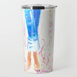 Boyfriend Jeans Travel Mug