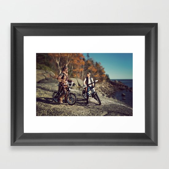 Days Gone By Framed Art Print