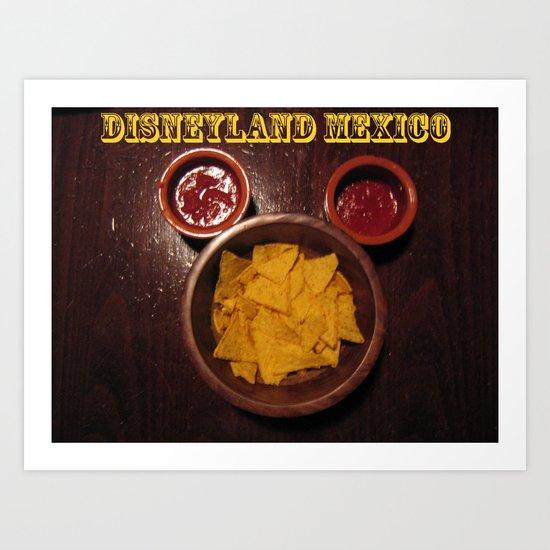 Dizneyland Mexico Art Print