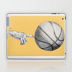 Basketball spin orange Laptop & iPad Skin