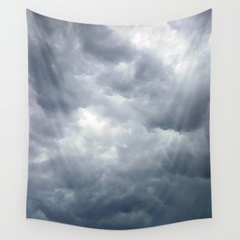 Cloudy Summer Day Wall Tapestry
