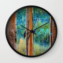 Ninjutsu Wall Clock