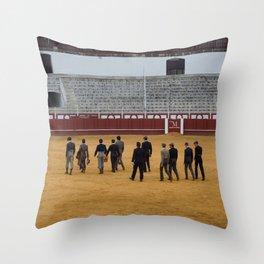11 Angry Men Throw Pillow