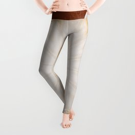 Cafe con Leche Coffee Mandala Abstract Leggings