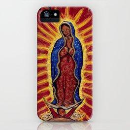 Virgin de Guadalupe iPhone Case