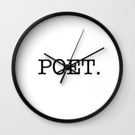 POET. Wall Clock