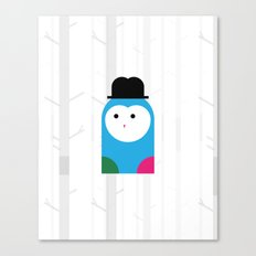 THE MISSING SCARF - Owl Canvas Print