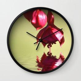 Dipped Wall Clock