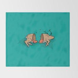 Oh Deer! Throw Blanket