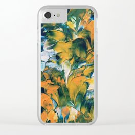 Spring Florals Clear iPhone Case