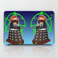 dalek iPad Cases featuring Punk Dalek by Andrew Mark Hunter