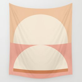Abstraction_Mountains_NEW_Radius_Art_Minimalism_001 Wall Tapestry