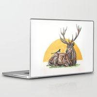 stag Laptop & iPad Skins featuring Stag by Meredith Mackworth-Praed