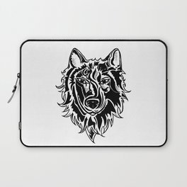 Abstract Wolf Laptop Sleeve